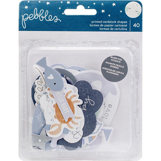 Pebbles® Night Night Baby Boy Ephemera