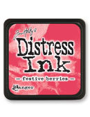 Tim Holtz® Mini Distress Ink Pad - festive berries