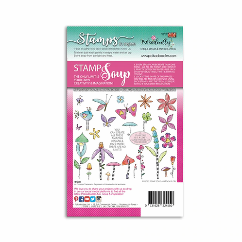 Garden Glory Stamp Soup by Polkadoodles®