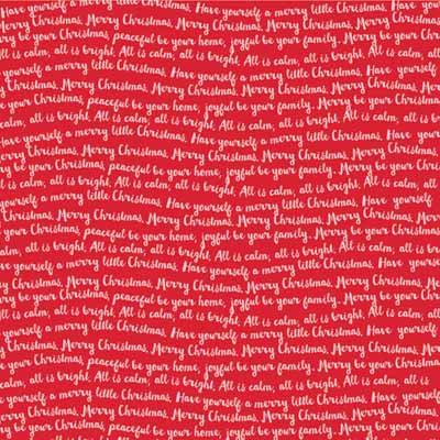 Bella Blvd® Make it Merry Fa la la Sheet 12 x 12