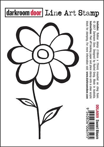 Darkroom Door Line Art Stamp - Sweet Bloom