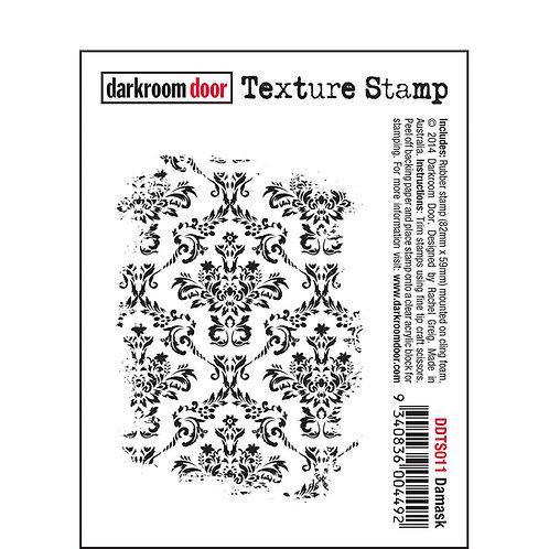 Darkroom Door Texture Stamp - Damask