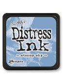 Tim Holtz® Mini Distress Ink Pad - stormy sky