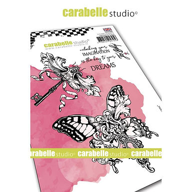 Carabelle Studio Cling Stamp A6 By Jen Bishop - Key to Dreams