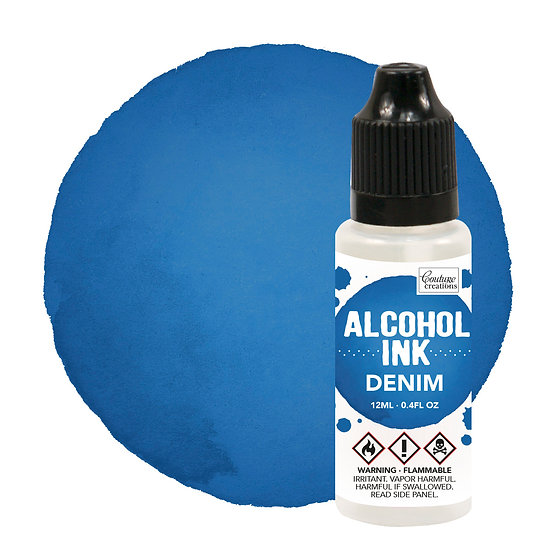 Couture Creations Alcohol Ink - Denim