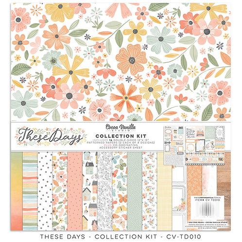 Cocoa Vanilla - These Days – 12 x 12 Collection Kit