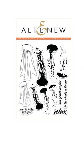 Altenew® Painted Jellyfish Stamps