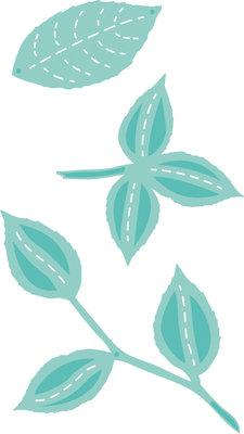 Kaisercraft® Decorative Die - DIY Flora Leaves