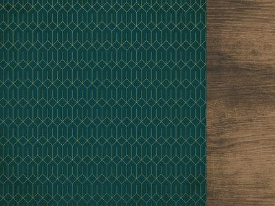 Emerald Eve 12x12 Scrapbook Paper - REJOICE