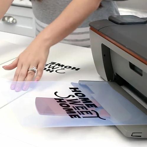 """Ikonart® Inkjet Film 8.5"""" x 11""""- 2 Pack Sizes"""