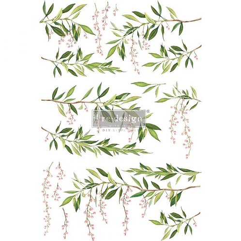 Redesign Décor Transfers® – Spring Branch size 24″x 34″