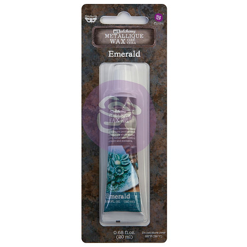 Art Alchemy – Metallique Wax – Emerald –  20ml