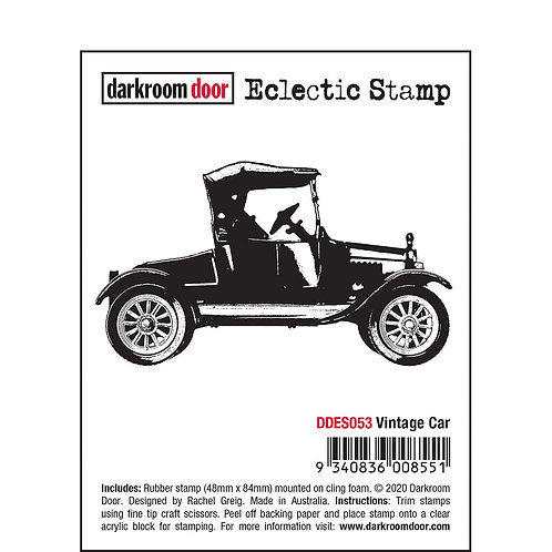 Darkroom Door Eclectic Stamp - Vintage Car