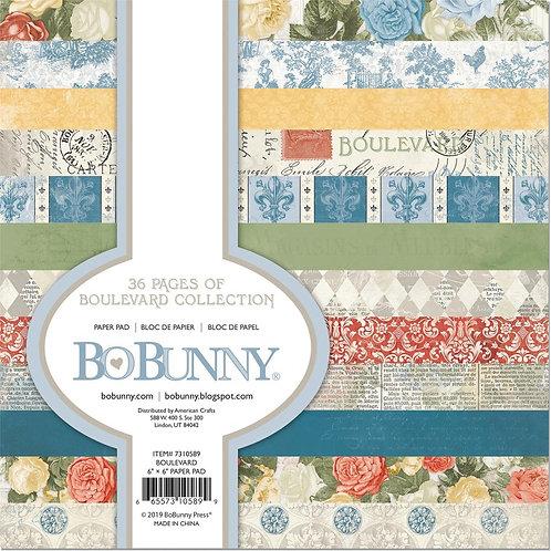 Bo Bunny® 6 x 6 Paper Pad - Boulevard