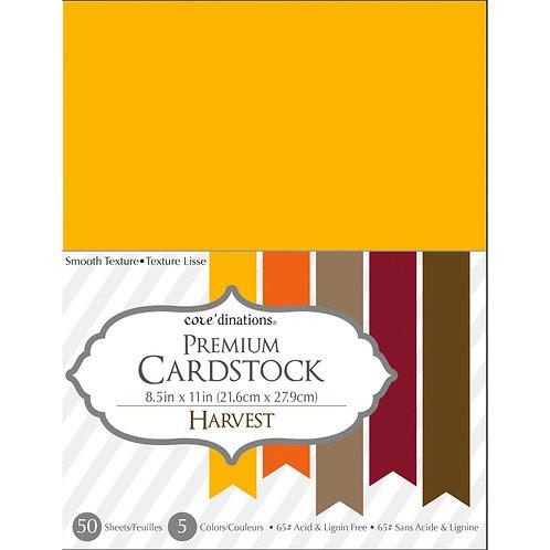 "Darice® Value Pack Smooth Cardstock 8.5""X11"" 50/Pkg - Harvest"