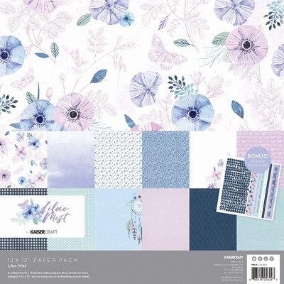 Kaisercraft® Lilac Mist Paper Pack with Bonus Sticker Sheet