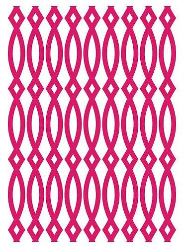 Couture Creations Embossing Folder - Elliptic Illusion
