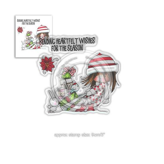 Polkadoodles® Winnie Heartfelt Wishes