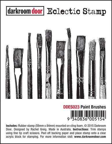 Darkroom Door Eclectic Stamp - Paint Brushes