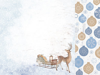 Kaisercraft® Whimsy Wishes Dashing Deer 12x12 paper