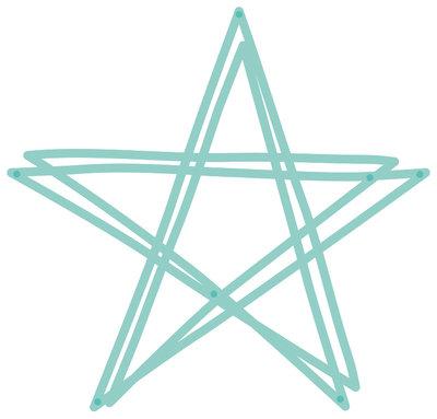 Kaisercraft® Decorative Die - Scribble Star