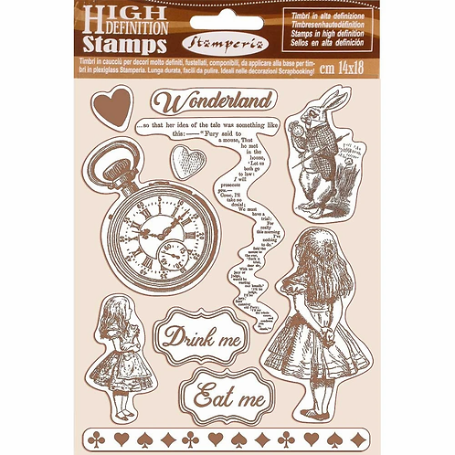 Stamperia® High Definition Stamp - Alice