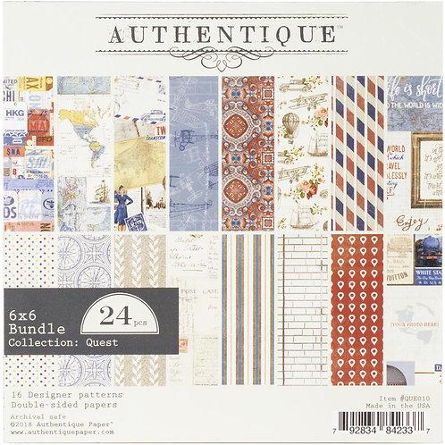 Authentique® Quest Paper Pad 6 x 6