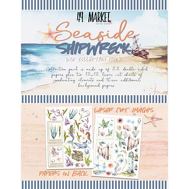 49 and Market® Seaside Shipwreck Collection 6 x 8