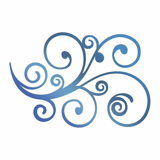 Couture Creations®Hotfoil Stamp - Curling Flourish