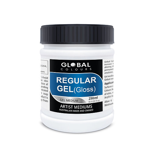 Global Regular Gel Medium - Gloss 250ml