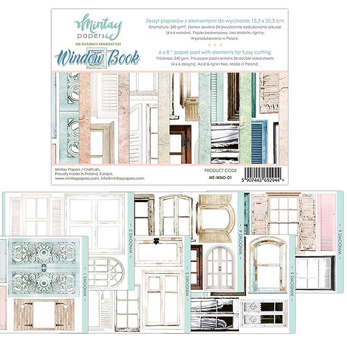 Window Book by Mintay Papers 6 x 8