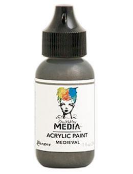 Dina Wakley® Media Acrylic Paint 1oz - Medieval