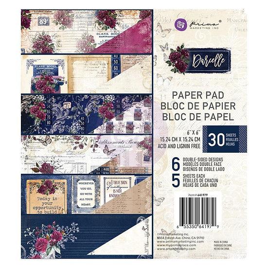 "Darcelle 6 x 6"" Paper Pad by Prima®"