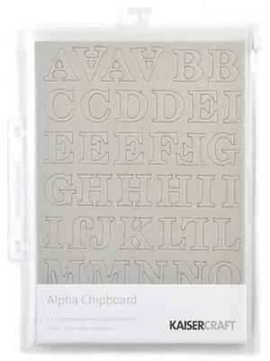 Kaisercraft® Alpha Chipboard - Style 1