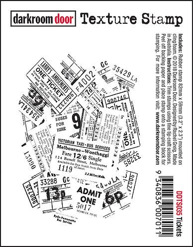 Darkroom Door Texture Stamp - Tickets