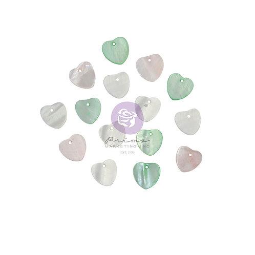 Magic Love Collection Pearl Hearts – 15 pcs