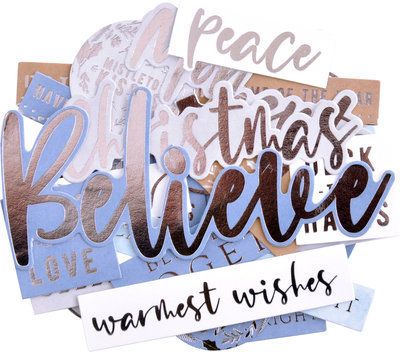 Kaisercraft® Whimsy Wishes Sentiment Collectables