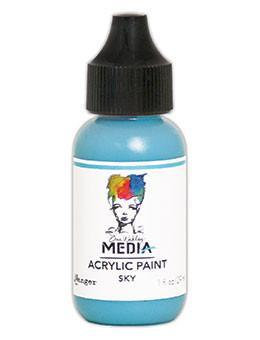 Dina Wakley® Media Acrylic Paint 1oz - Sky