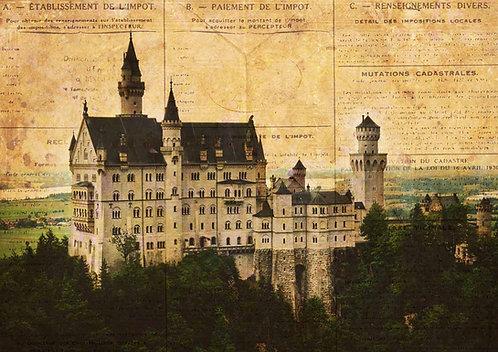 Decoupage Queen® Decoupage Paper - European Castle