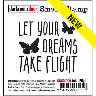 Darkroom Door Small Stamp - Take Flight