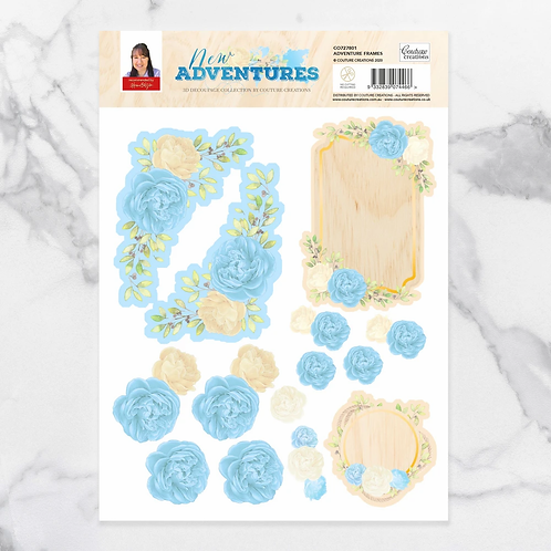 Couture Creations®New Adventures Decoupage Frame Set