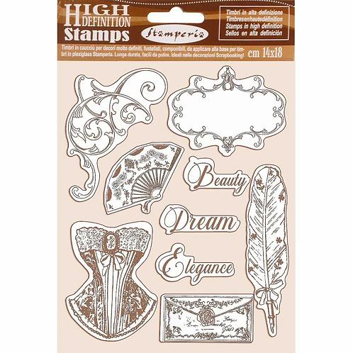Stamperia® High Definition Stamp - Princess
