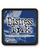 Tim Holtz® Mini Distress Ink Pad - chipped sapphire