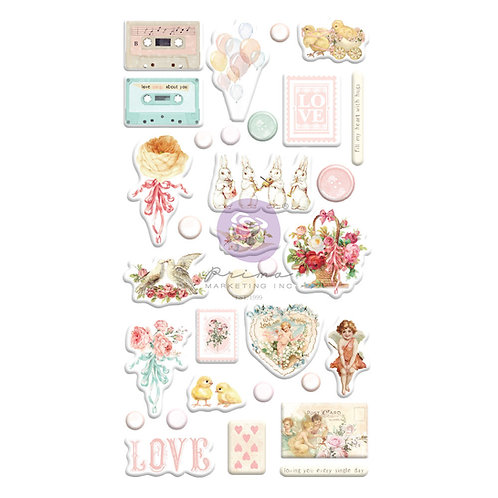 Magic Love Collection Puffy Stickers – 32 pcs