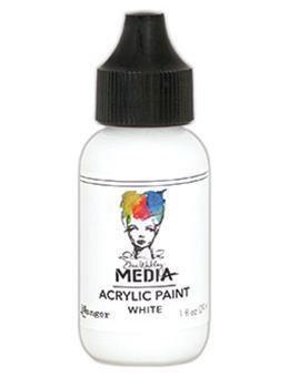 Dina Wakley® Media Acrylic Paint 1oz - White