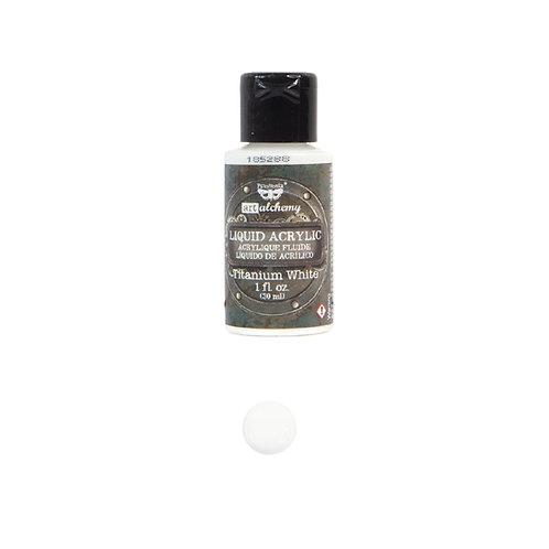 Art Alchemy – Liquid Acrylics – Titanium White –  30ml