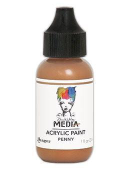 Dina Wakley® Media Acrylic Paint 1oz - Penny