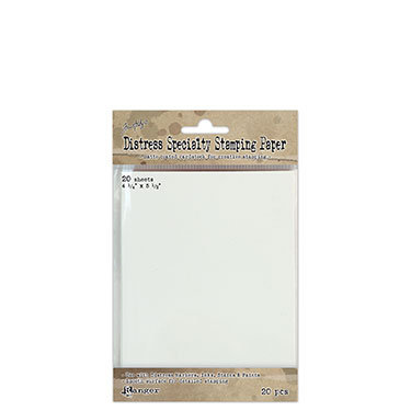 Distress Specialty Stamping paper
