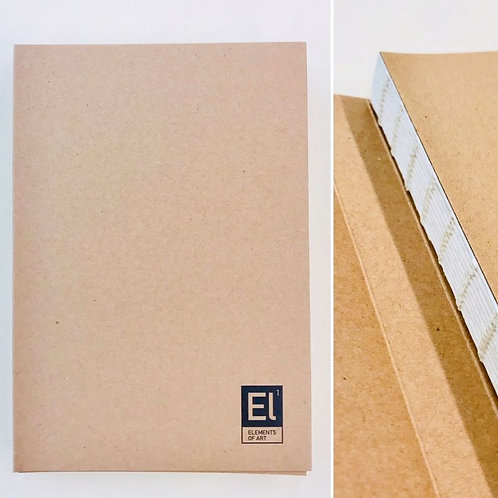 Elements of Art Wrap Cover Sketch Book - A5