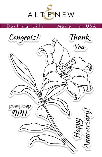 Altenew® Darling Lily Stamps